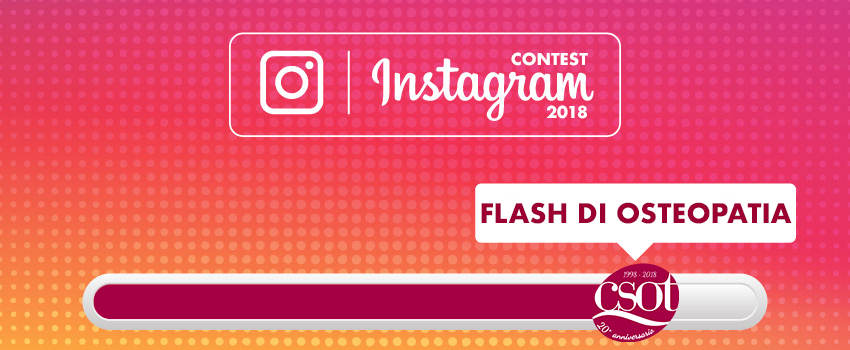 contest instagram 2018 csot flash di osteopatia