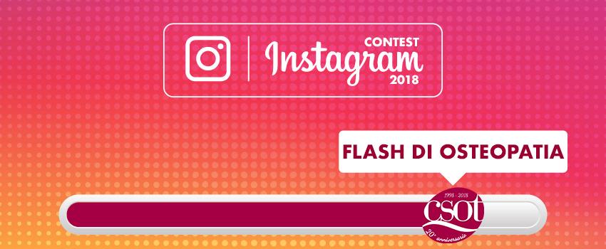 contest instagram 2018 csot flash di osteopatia