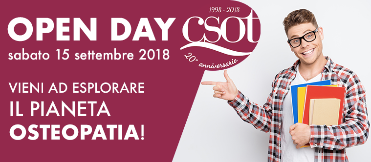 open day csot osteopatia settembre 2018