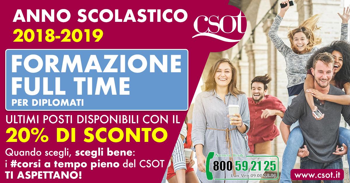 formazione full time csot roma