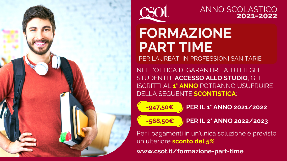 csot formazione part time 2021-2022