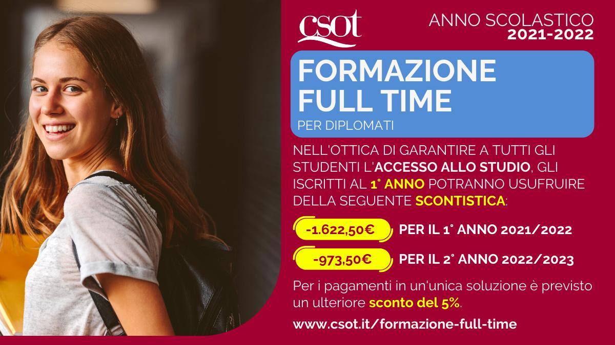 csot formazione full time 2021-2022